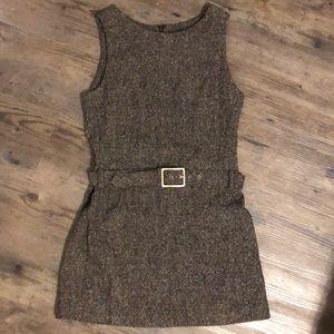 Dresses & Skirts - Vintage Belted Mini-Dress Size 4